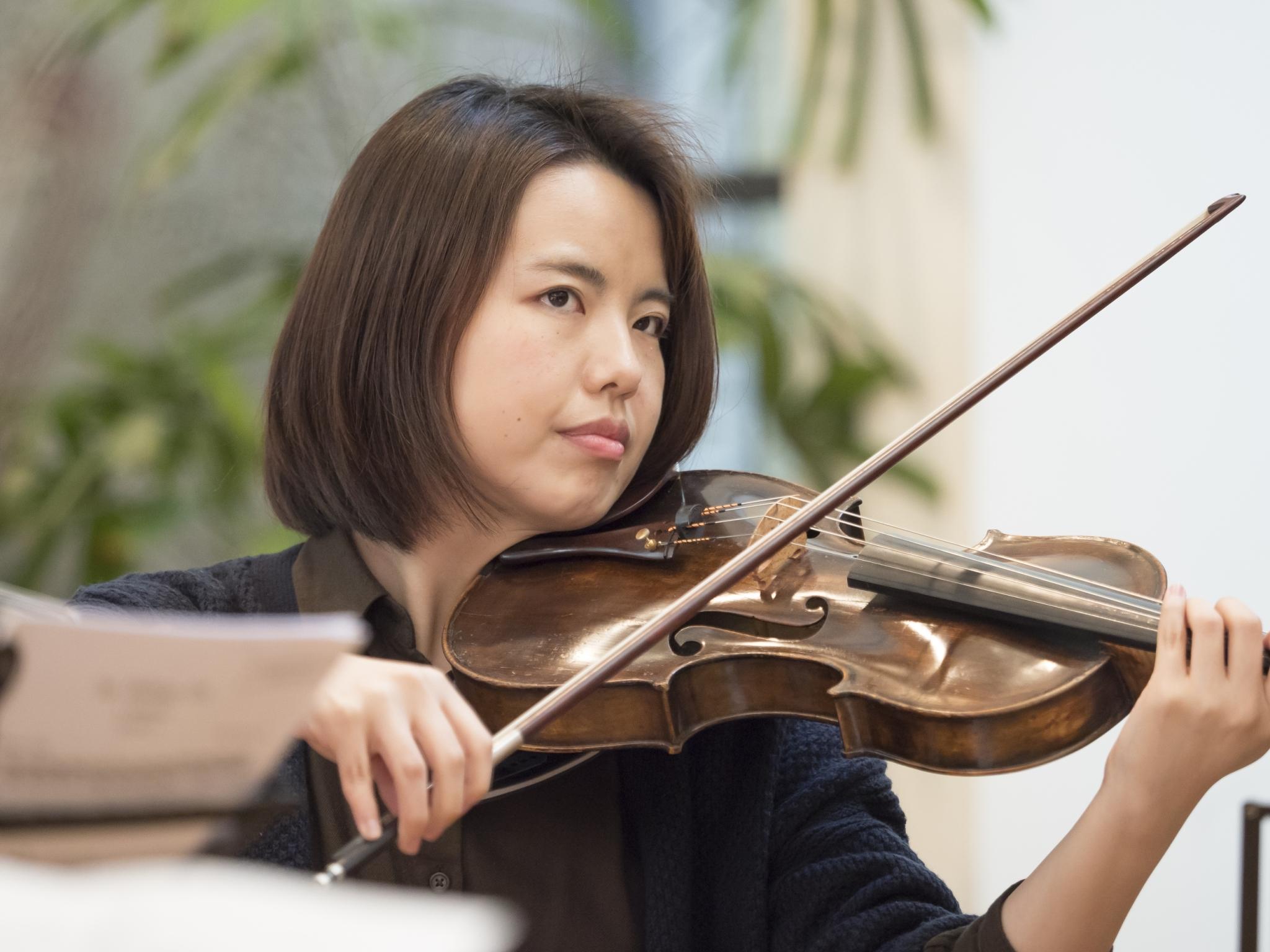 Einmal 対談(第7弾)ヴィオラ 永島聡美「ヴァイオリンとチェロの橋渡しになるような存在」